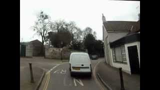 20 03 2012 KIngs Weston Road Close over take HD.wmv