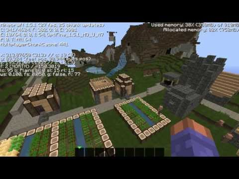 Top 3 Minecraft npc village seeds 1.6.4