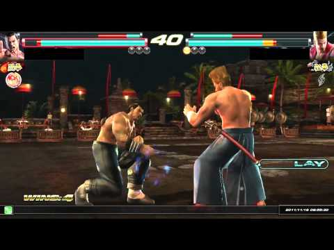 Tekken Tag Tournament 2 | ( Feng \ Leo ) Vs. ( Paul \ Yoshimitsu ) HD