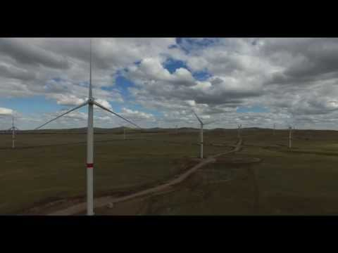 EXPO 2017. Ветростанции под Астаной в Ерейментау. Wind Power is The Future Energy in Kazakhstan.