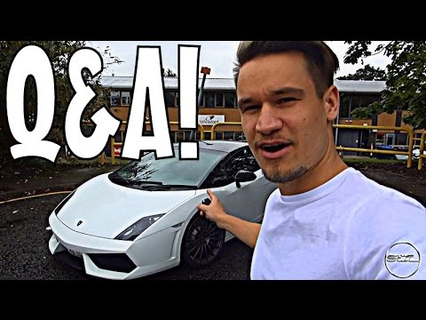 HOW LOUD IS MY LAMBO GOING TO BE? Q&A VLOG!