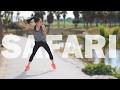 Coreografia Zumba (Safari - J Balvin ft. Pharrell Williams, BIA, Sky)
