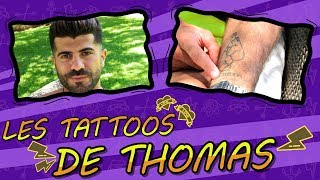 Thomas (Les Anges 10/Les Marseillais) raconte l'histoire de ses tatouages !