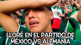 Lloré en el Partido de México VS Alemania | Soy Fredy