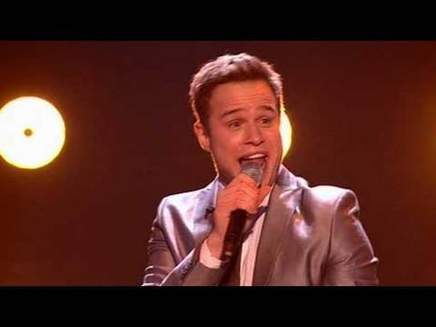 The X Factor 2009 - Olly Murs: Fool In Love - Live Show 10 (itv.com/xfactor)