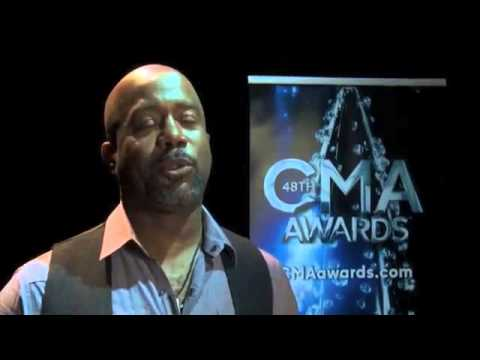 Darius Rucker on his first CMA Awards Nomination