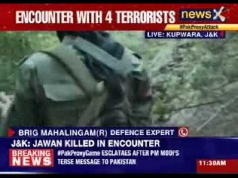 J&K: Encounter in Kupwara, one jawan killed