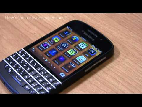 BlackBerry Q10 Snapshot Review