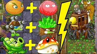 NEW COMBO Plants Vs Zombot War Wagon in Plants vs Zombies 2 BattleZ: Gameplay 2019.