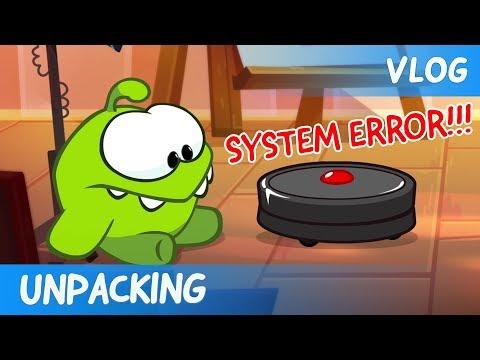 Om Nom Stories: Video Blog - Unpacking