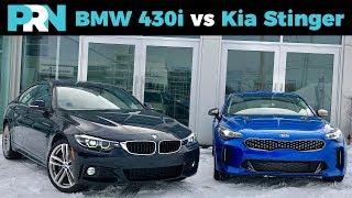 BMW 4 Series vs Kia Stinger   TestDrive Showdown