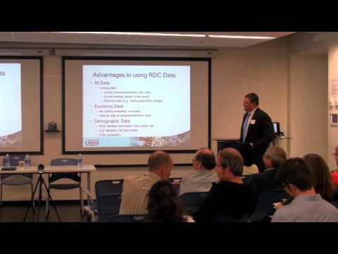 Northwest Census Research Data Center Launch Part 2