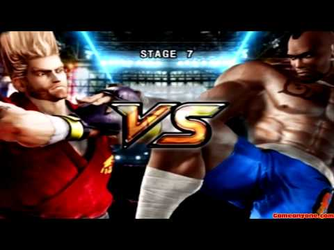Tekken 5 - Story Battle - Paul Playthrough video