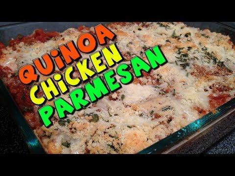 Healthy Quinoa Chicken Parmesan Recipe  Low Fat