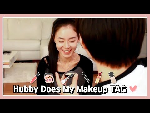 Hubby Does My Makeup Tag