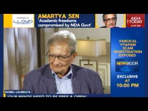Amartya Sen Opines Modi Govt 'Not Good For India'