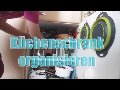 Ordnung in der KÜCHE / Küchenschränke aufräumen und organisieren