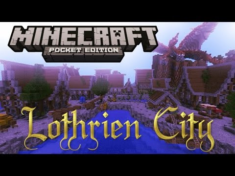 Lothrien City Map Review - Minecraft PE