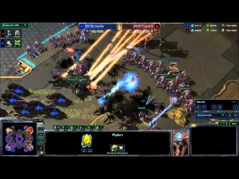 StarCraft II - [SCS] Coyote vs [ROOT] puCK - ZvP