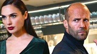 "Jason Statham Super Bowl Commercial 2017 WIX ""Restaurant"" Gal Gadot Funny Sexy Superbowl Ad 2017"