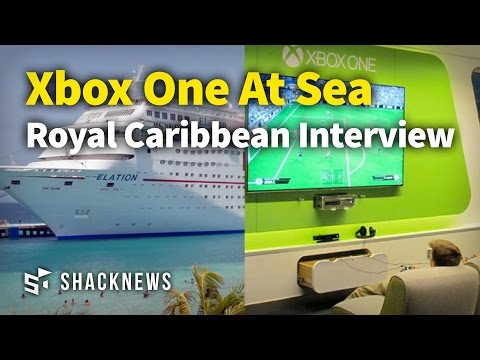 Xbox One At Sea Royal Caribbean Interview