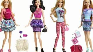 New Barbie Dolls and Playsets 2014