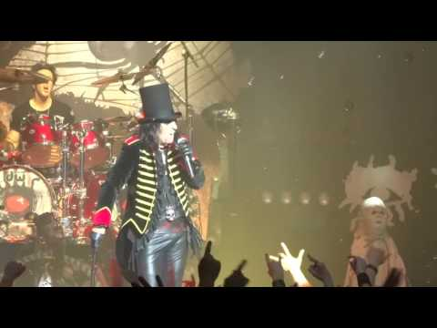 Spend The Night With Alice Cooper @ Cirque Royal Brussels, 2016-06-21