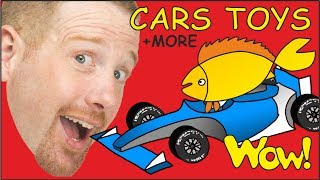 Cars Toys + MORE | English Collection of Stories for Kids from Steve and Maggie | Wow English TV