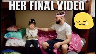 REEMA'S NO LONGER IN VLOGS PRANK!!! (HER FINAL MESSAGE)