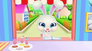 Làm Sinh Tố Trái Cây Cho Bạn Thỏ Dễ Thương – Game Vui Cho Bé