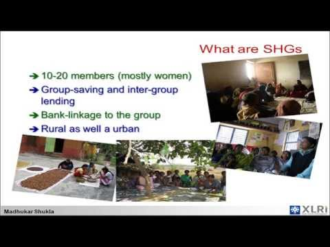Poverty Alleviation Initiatives in India - Madhukar Shukla, XLRI Jamshedpur