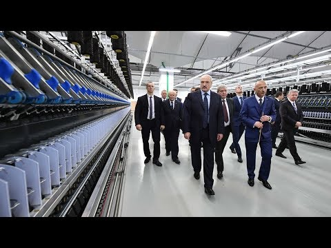 Лукашенко посетил ОАО Камволь