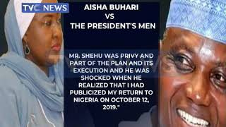 Aisha Buhari wants Garba Shehu to resign