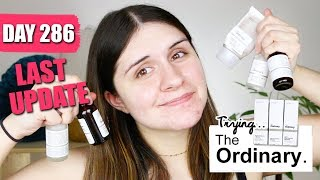 I Try The Ordinary (9 MONTH UPDATE) | Emelia Kate