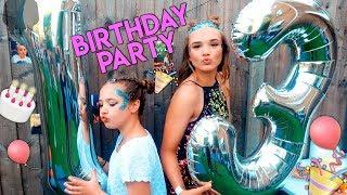 Festival Themed Birthday Party & Secret Challenge! - VLOG