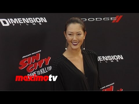 Michelle Wie | Sin City A Dame To Kill For | Los Angeles Premiere video