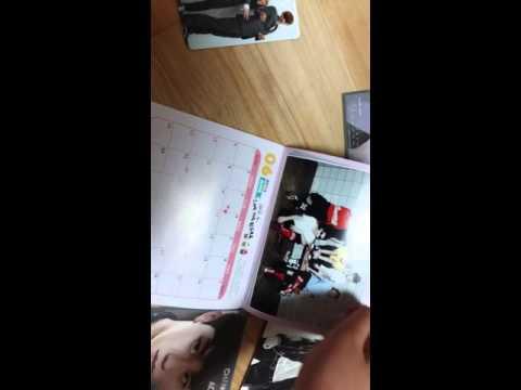 EXO-4분 43초 안에 보는 엑소 앨범&굿즈&포스터 공개