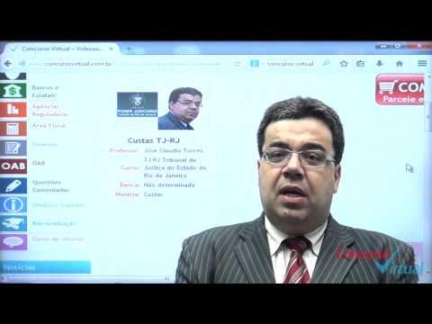 Apresentação - Custas Judiciais - Prof. José Claudio Torres