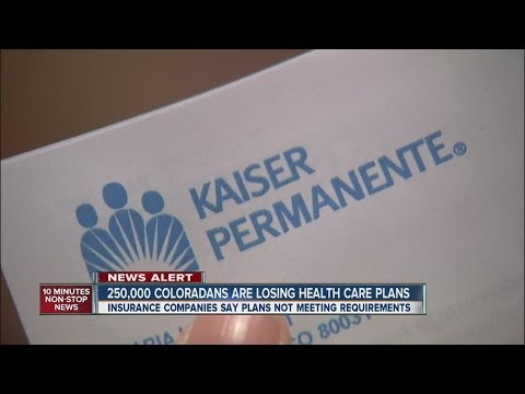 250K Coloradans have health insurance cancelled