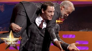 Is John Cena About To Use His NEW FINISHER on Graham Norton!?   The Graham Norton Show