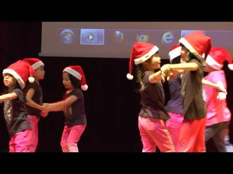 Have A Holly Jolly Christmas, Preschool Christmas Dance Song  Chomel Learning Concert 2013 video