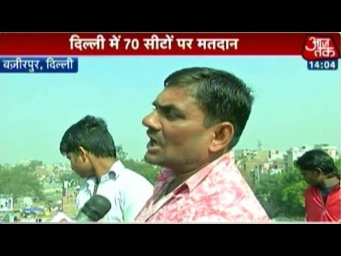 Delhi polls: Voter's mood in JJ Colony, Wazirpur