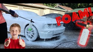 THE MOST SATISFYING FOAM CANNON VIDEO EVER!!!