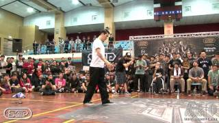 Popping Best16-1 Hoan vs Jun | 20140302 OBS Vol.8