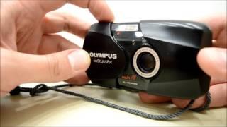 Olympus  Stylus Epic (Mju II) 35mm film camera, 35mm f2.8 lens