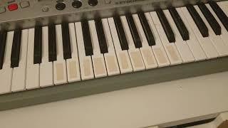 Lær at spille Mester Jacob på keyboard