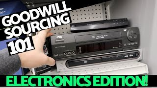 eBay For Beginners   How To Source Electronics at Goodwill!