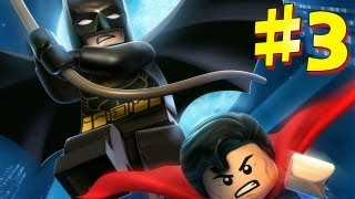 Lego Batman 2: DC Super Heroes - Walkthrough - Part 3 [HD] (X360/PS3/Wii/PC)