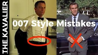 (00)7 Ways James Bond Breaks the Rules of Style | The Suits of James Bond