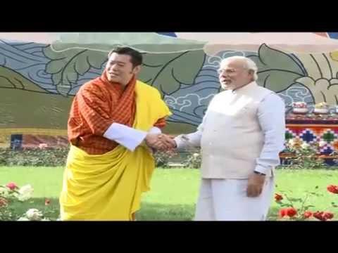 PM Narendra Modi meets His Majesty the King of Bhutan